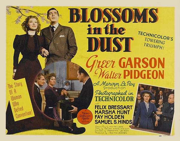 Blossoms in the Dust poster
